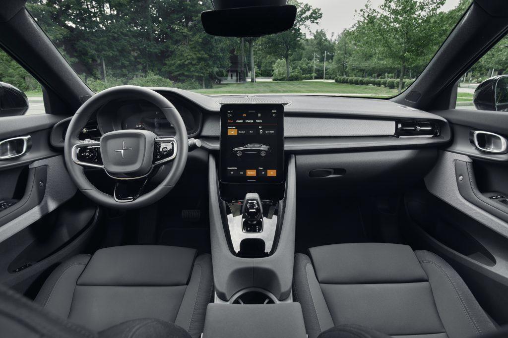 Polestar 2 front interior