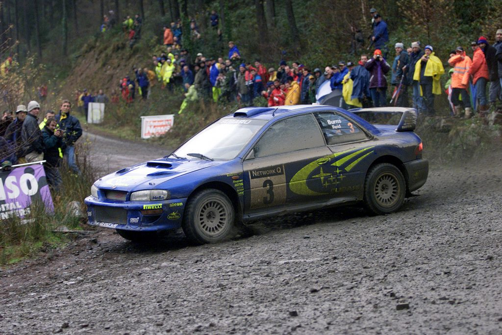 Richard Burns Subaru Impreza WRX