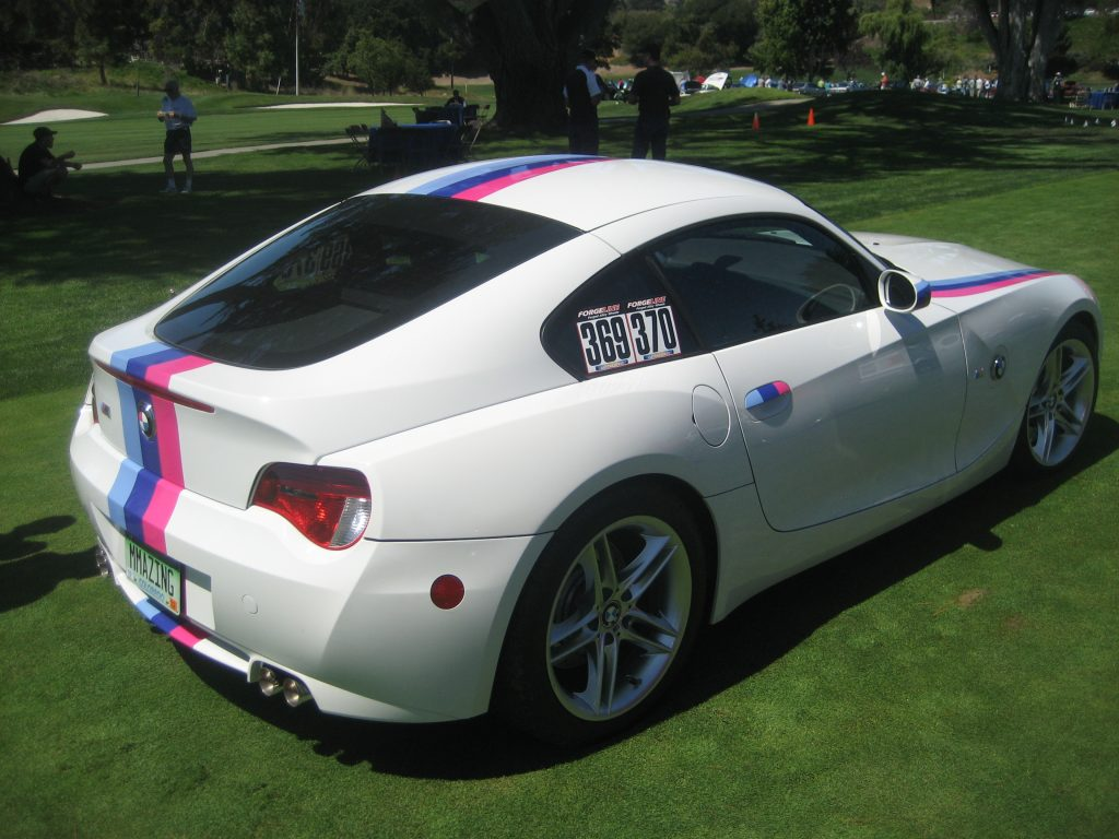 Rob Siegel - Seduced by a C3 Corvette - BMW Z4 full view from passenger rear