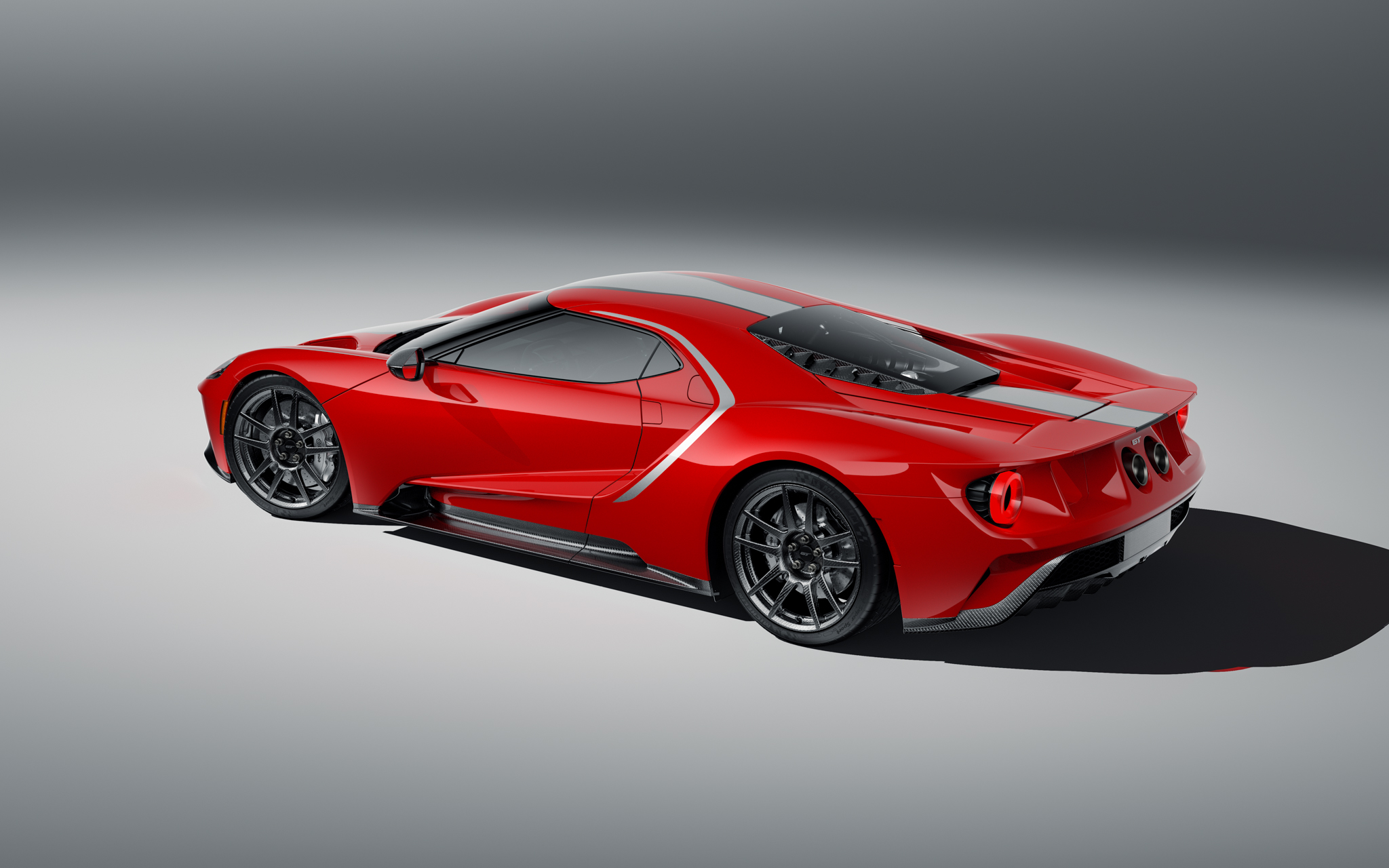2021 Ford GT Studio Series rear red