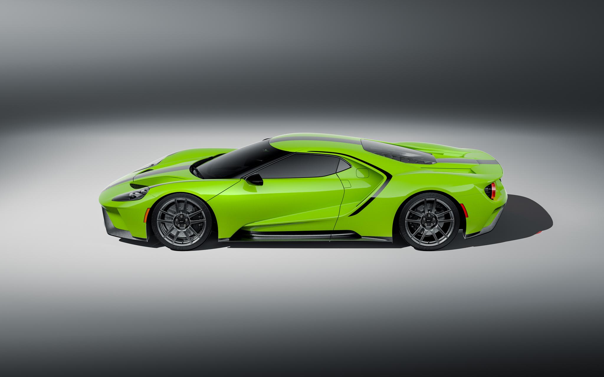 2021 Ford GT Studio Series profile