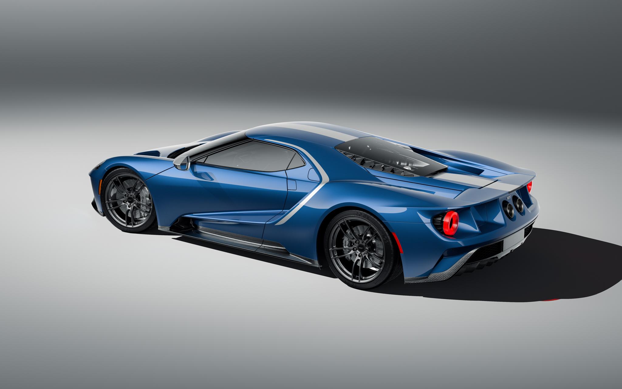 2021 Ford GT Studio Series rear three quarter