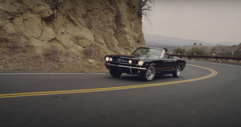Jason Momoa Lisa Bonet 1965 Mustang restoration Divine 1 Customs