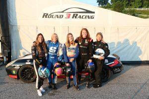 shift up motorsports female drivers group shot