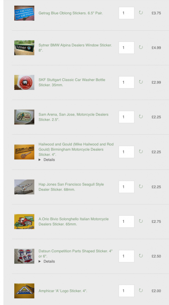 Smithology Auto Stickers online screenshot