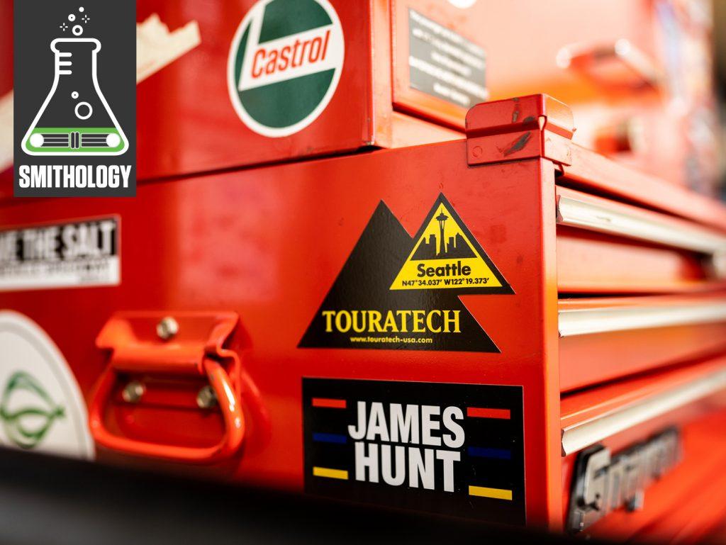 Smithology Red Snap On Tool Box