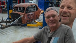 The crossover continues as Tom and Davin work on our 1930's race car | Redline Update