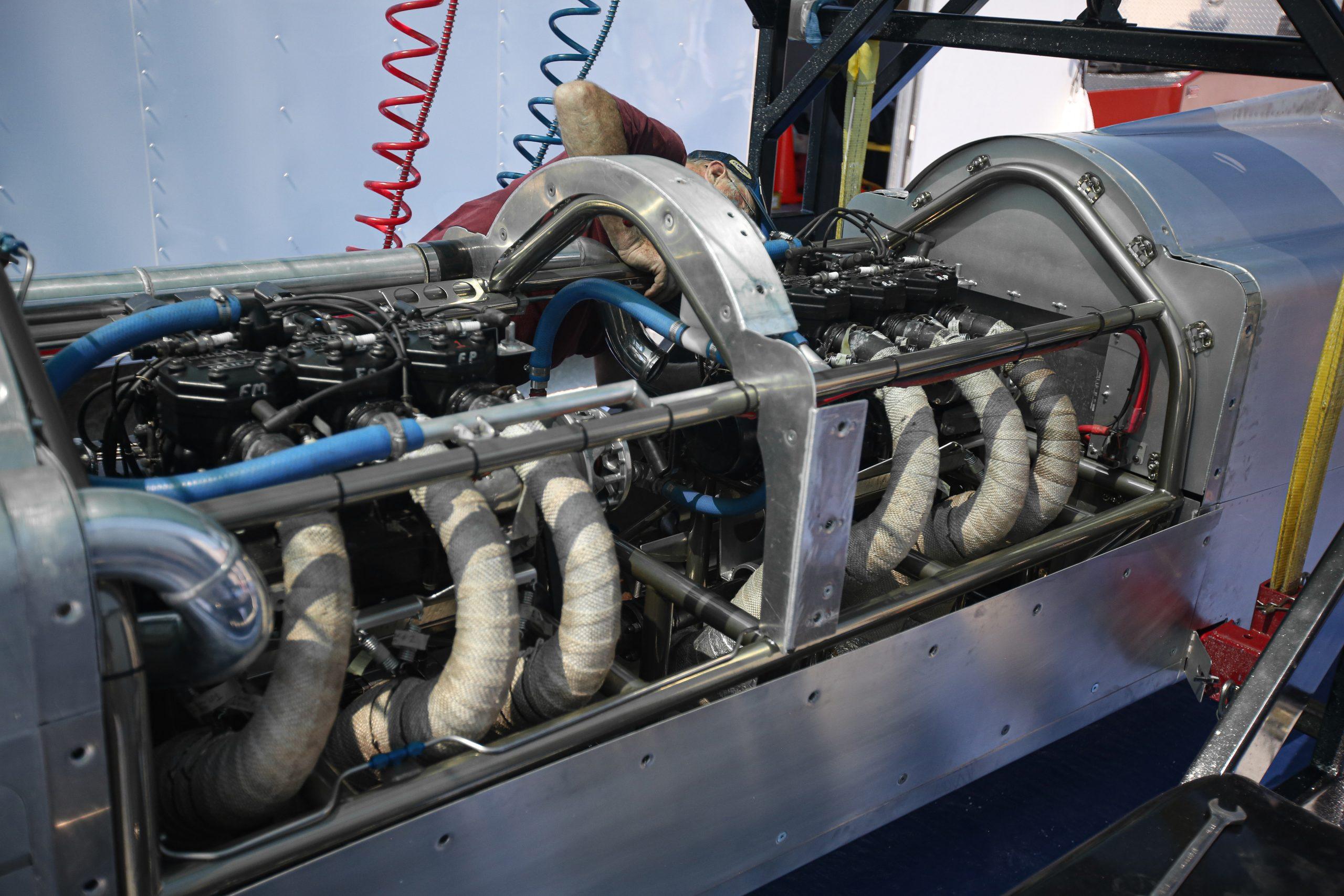 Snowmobile Engine Streamliner Speed Week 2020