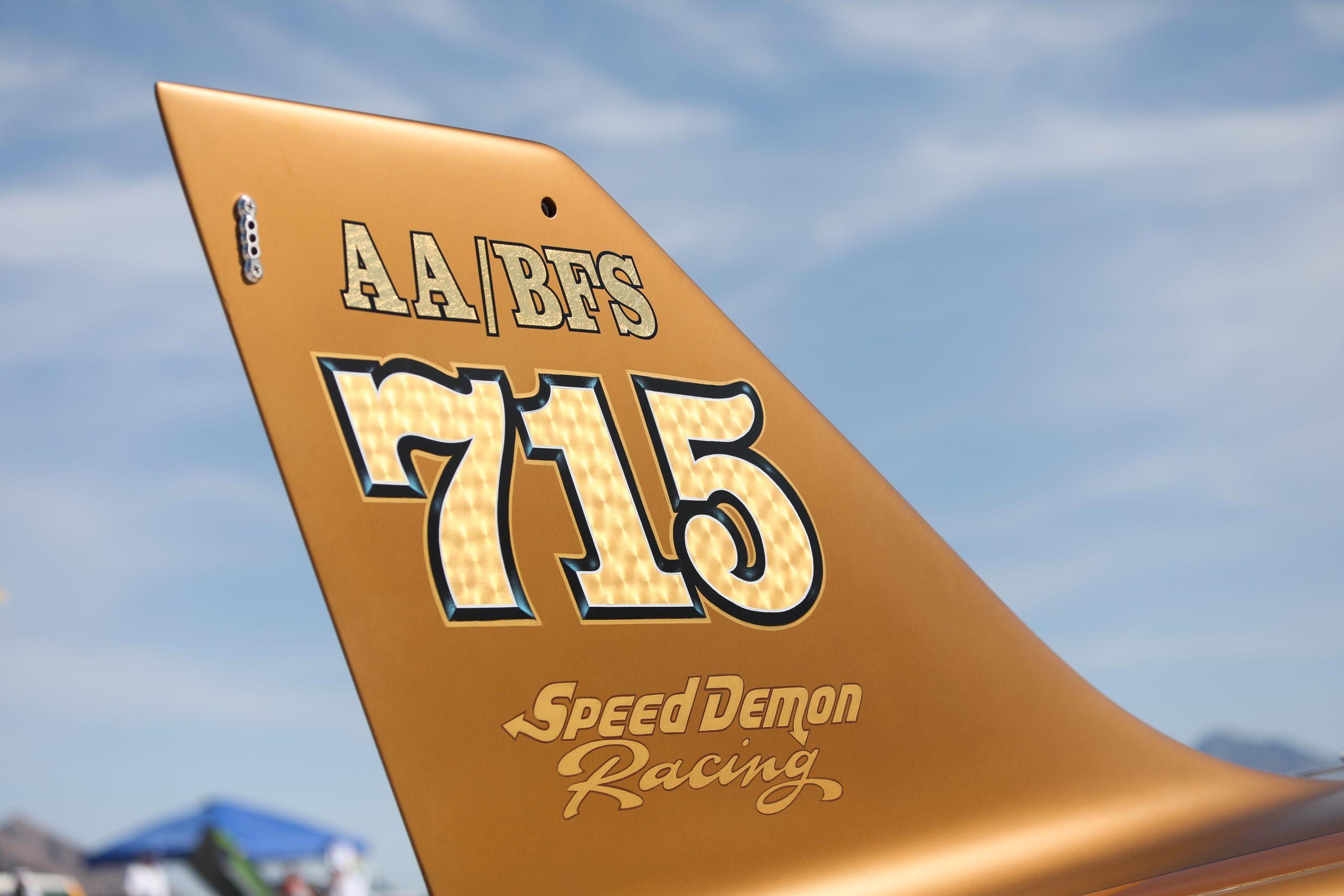 Speed Demon tail Bonneville Speed Week 2020