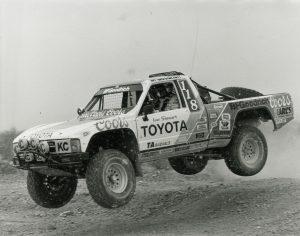 TRD 1984 SCORE Ivan Stewart