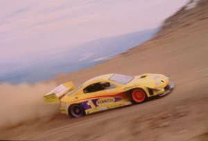TRD-1994 Pikes Peak Celica Rod Millen dynamic climb action