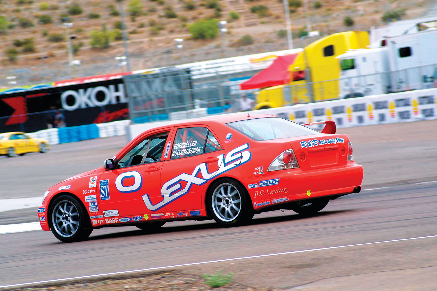TRD-2002 Lexus Racecar Goldsborough Lexus IS300