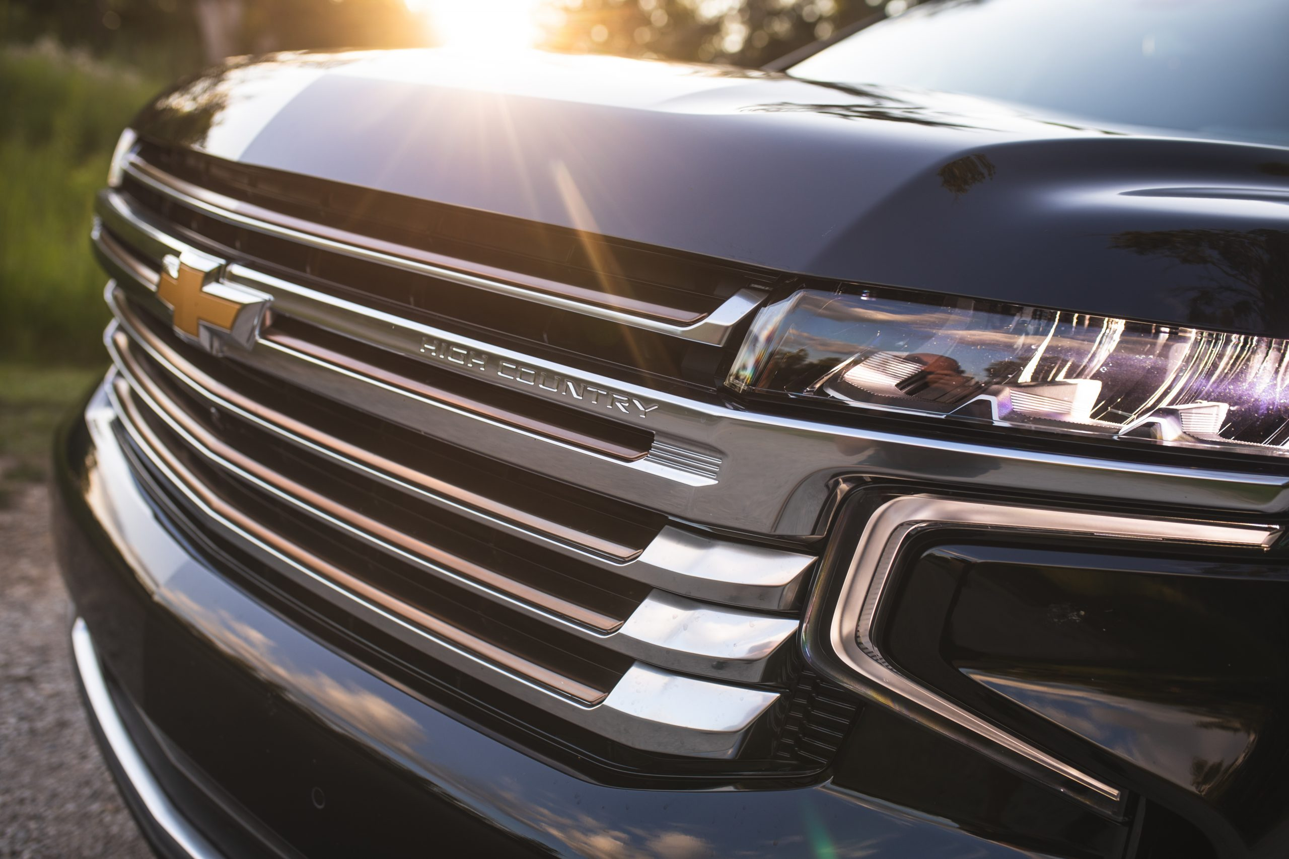 2021 Chevrolet Tahoe High Country grille