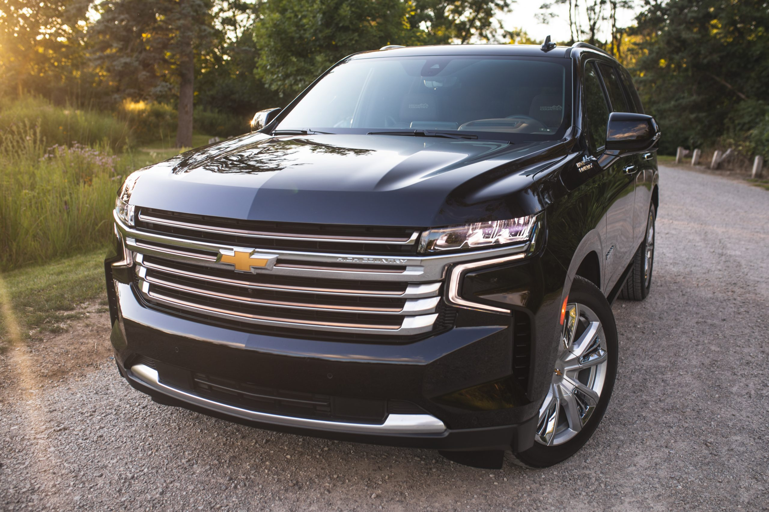 2021 Chevrolet Tahoe High Country front end
