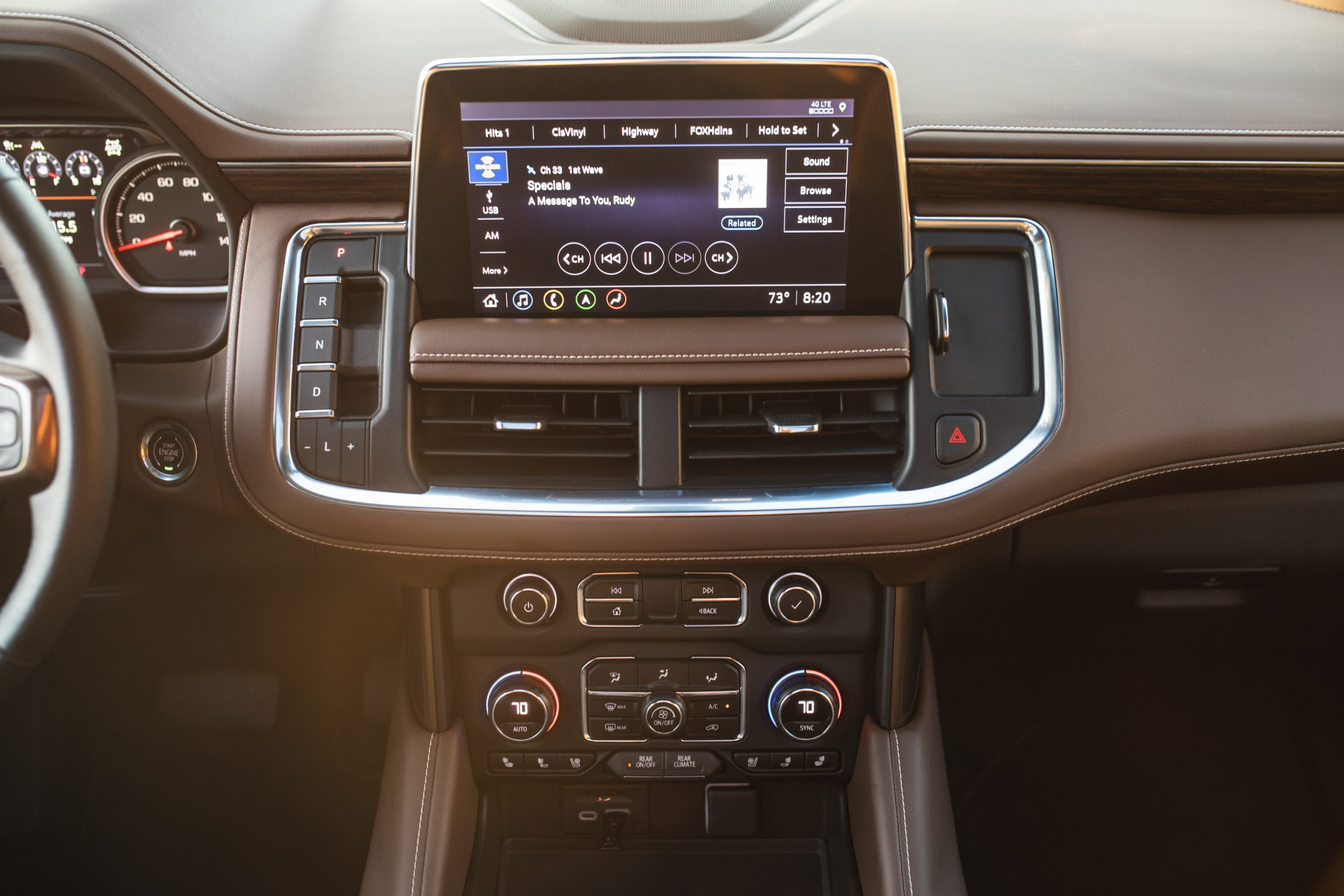 2021 Chevrolet Tahoe High Country infotainment screen
