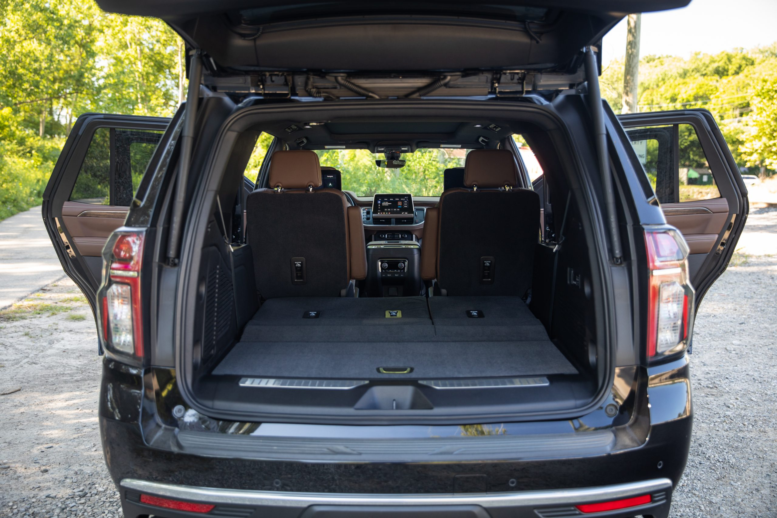 2021 Chevrolet Tahoe High Country rear cargo