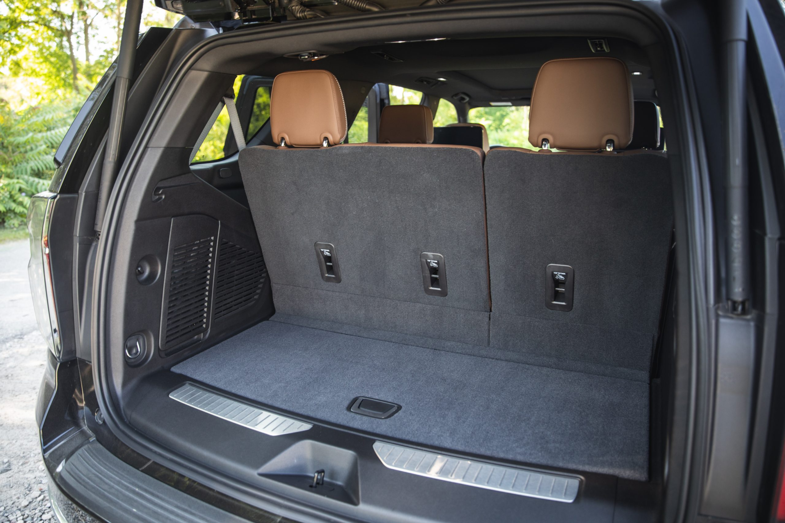 2021 Chevrolet Tahoe High Country rear cargo all seats up
