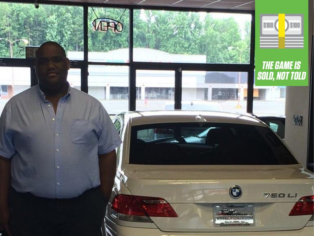 The Game is Sold Credit Lead BMW Car Showroom