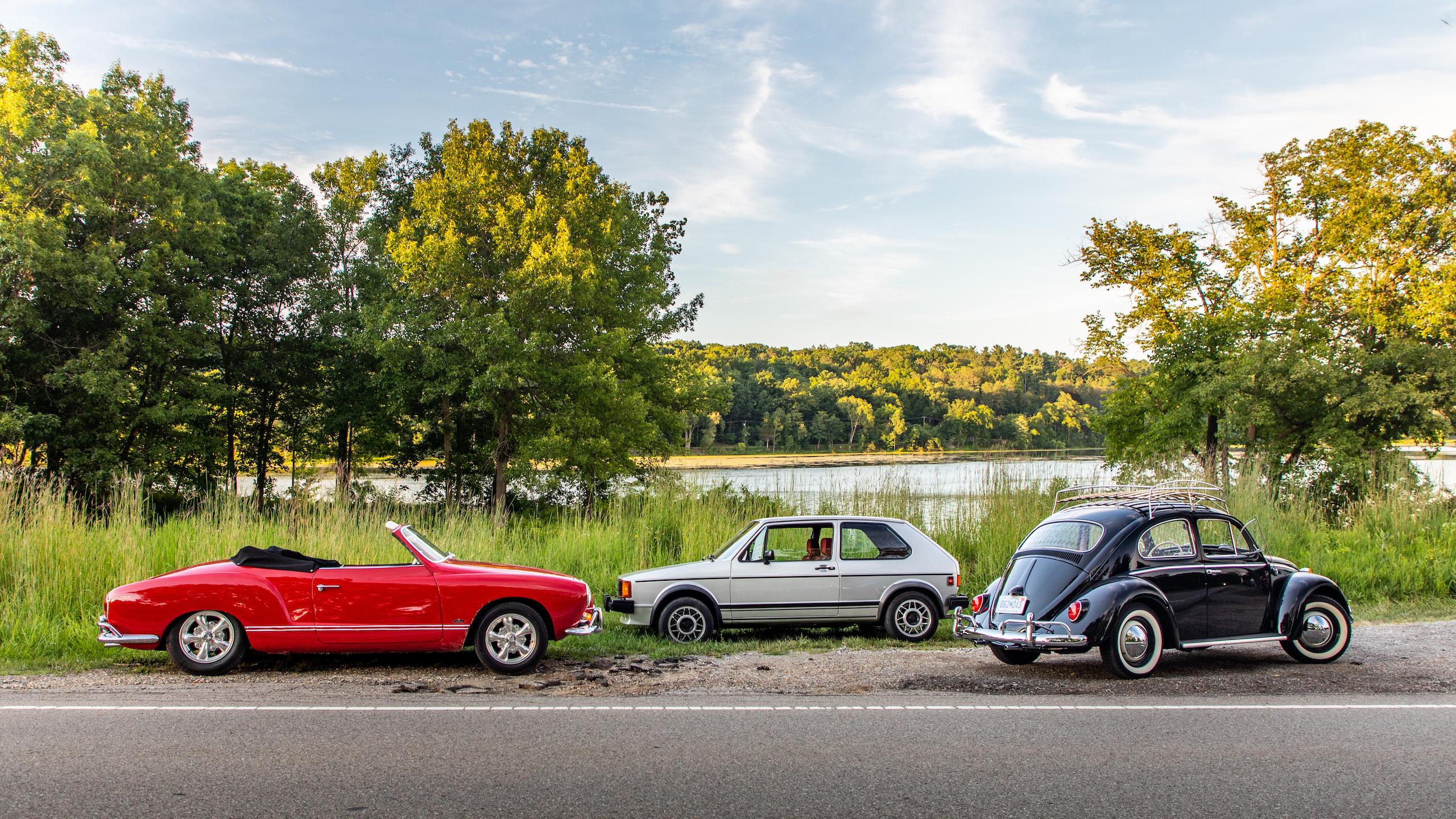 classic volkswagen cars beetle rabbit karmann ghia