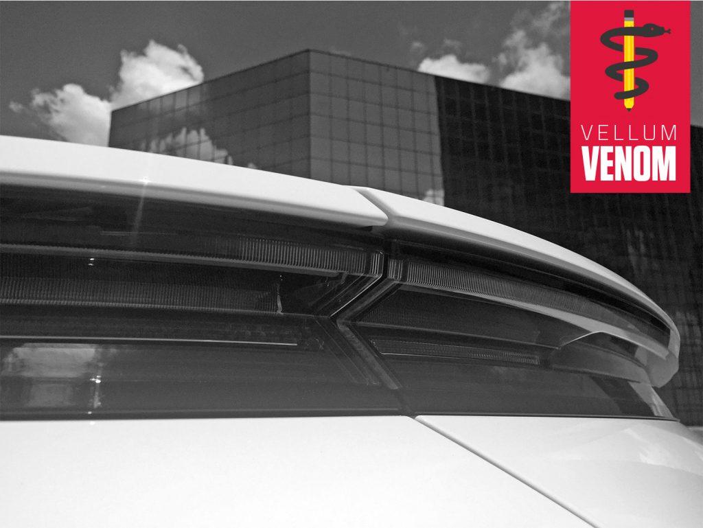 Vellum Venom Porsche Rear Diffuser detail