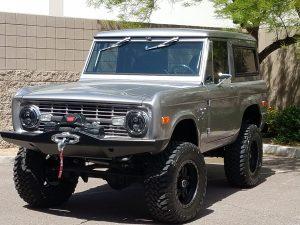 1968 Bronco restomod reader ride