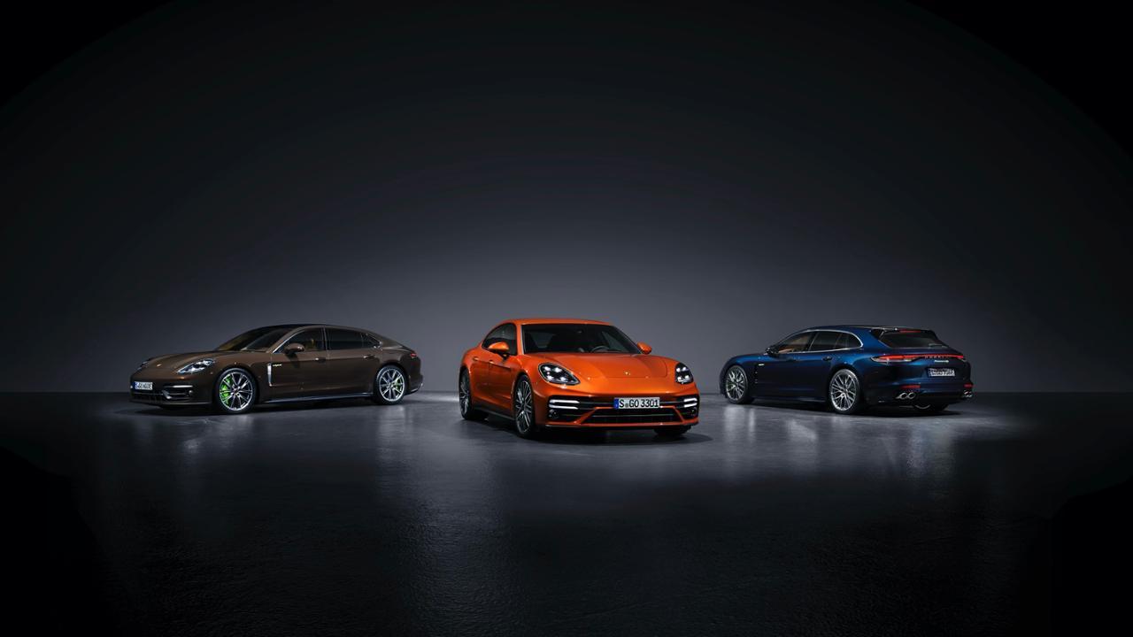 2021 Panamera 4S E-Hybrid Executive Turbo S and 4S E-Hybrid Sport Turismo