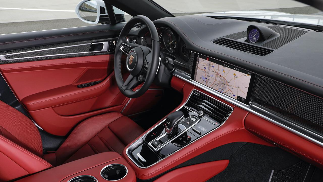 2021 Panamera 4S E-Hybrid Sport Turismo interior
