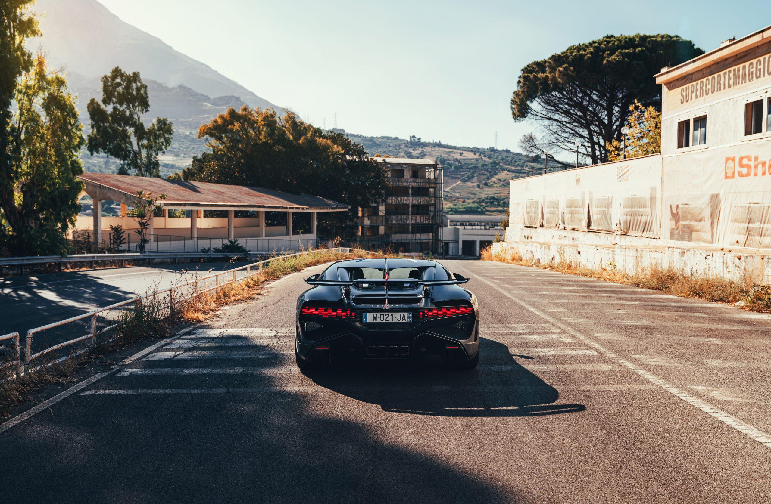 Bugatti Divo static Targa Florio rear