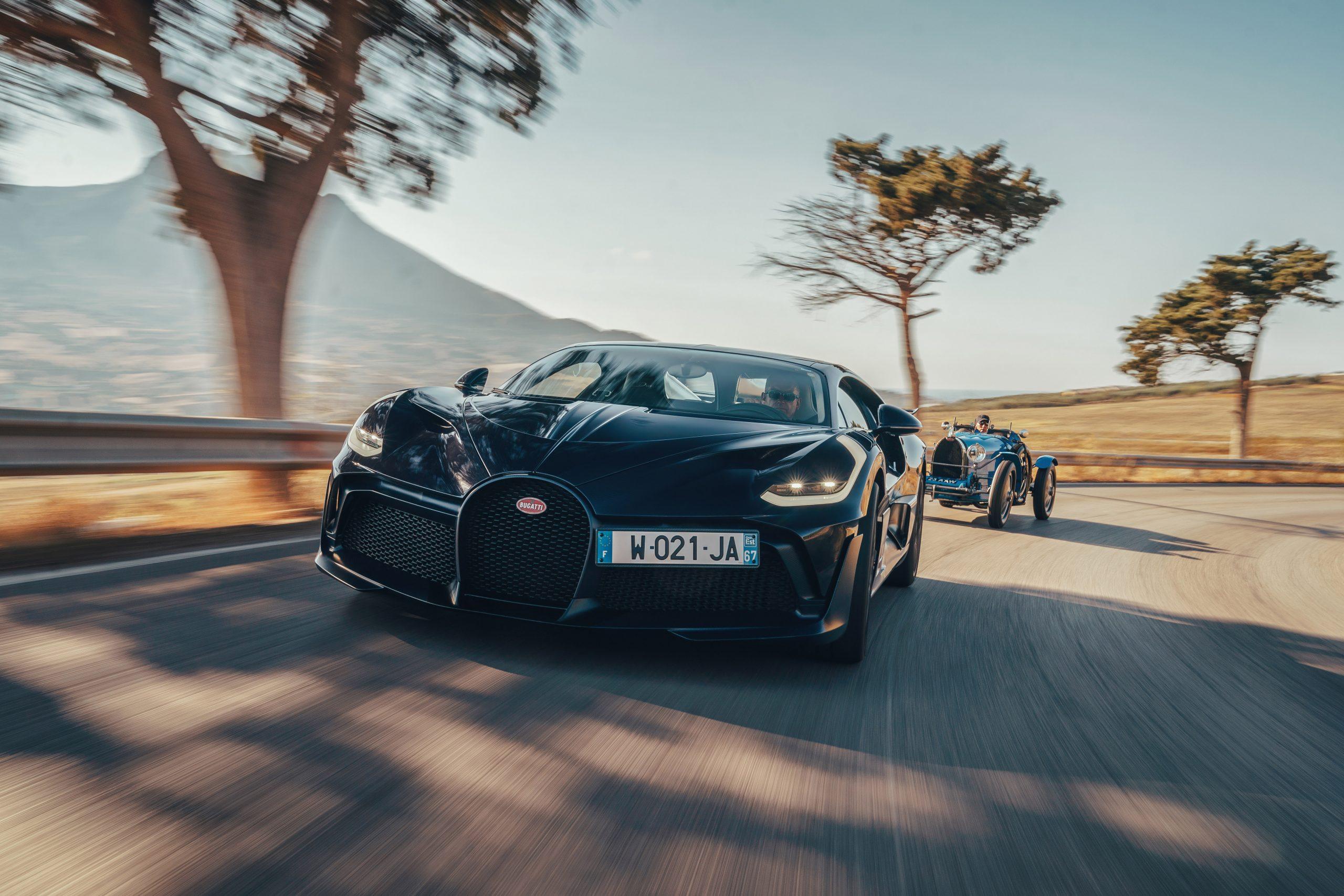 Bugatti Divo rolling front Targa Florio Type 35