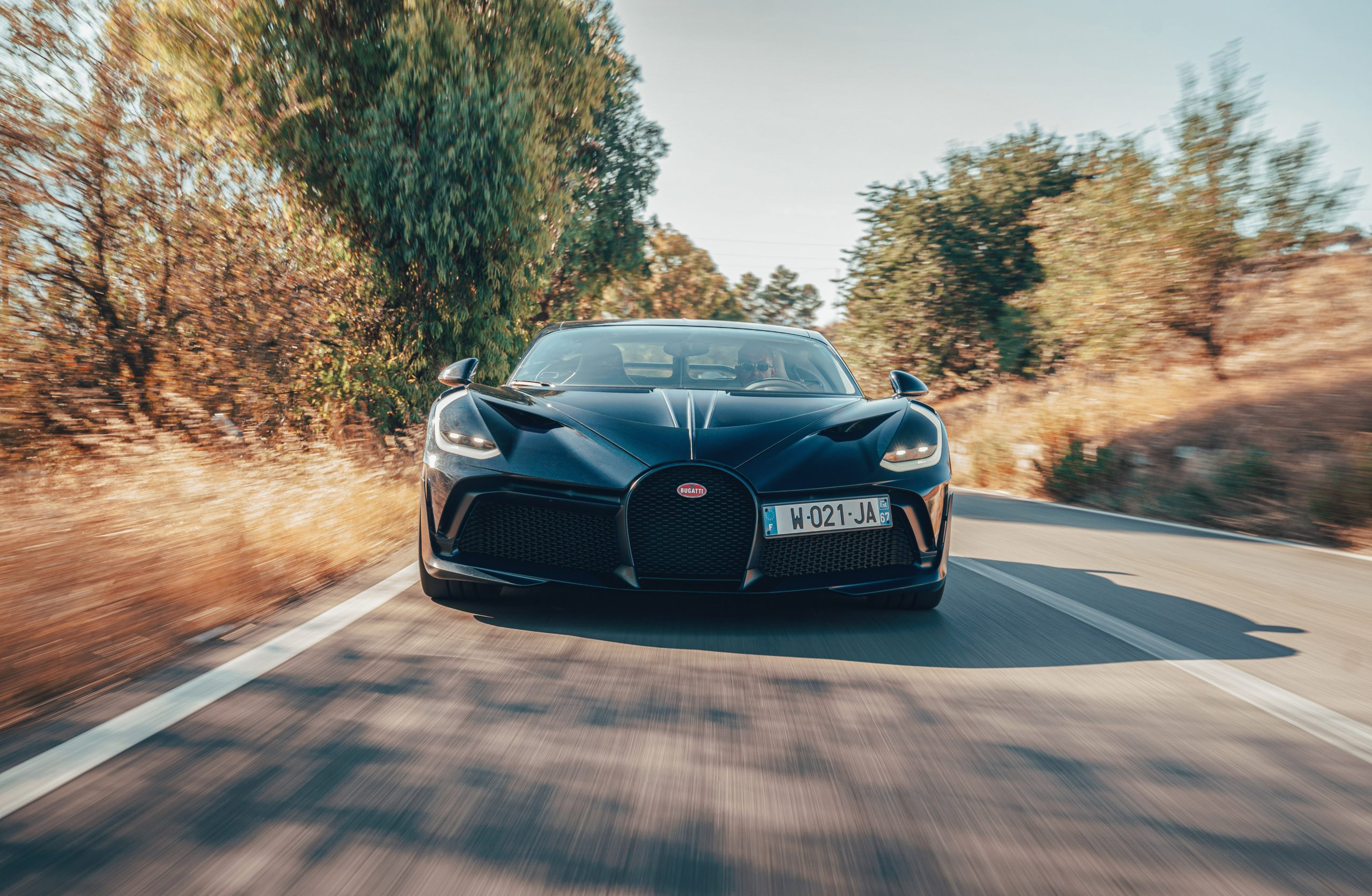 Bugatti Divo rolling front Targa Florio