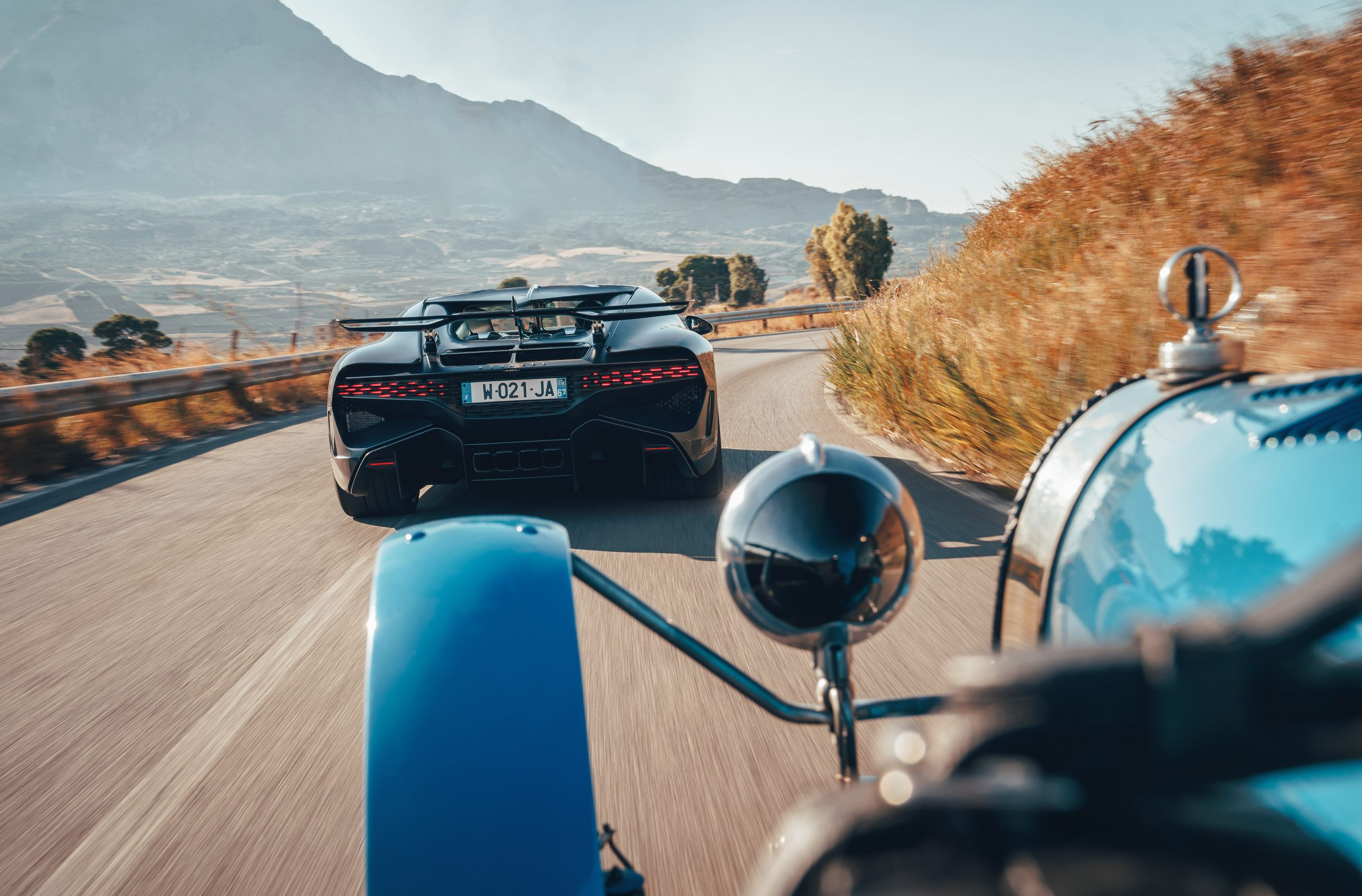Bugatti Divo rolling rear Targa Florio Type 35
