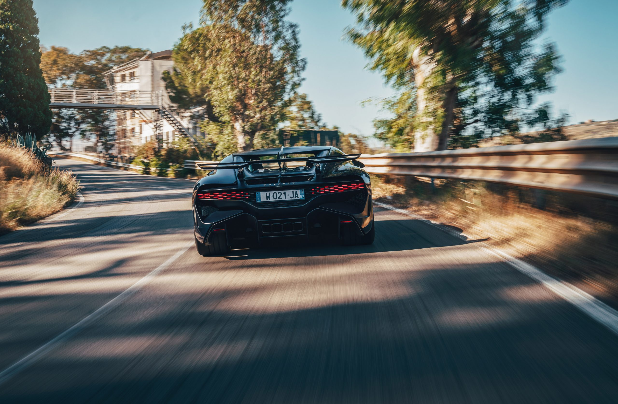 Bugatti Divo rolling rear Targa Florio