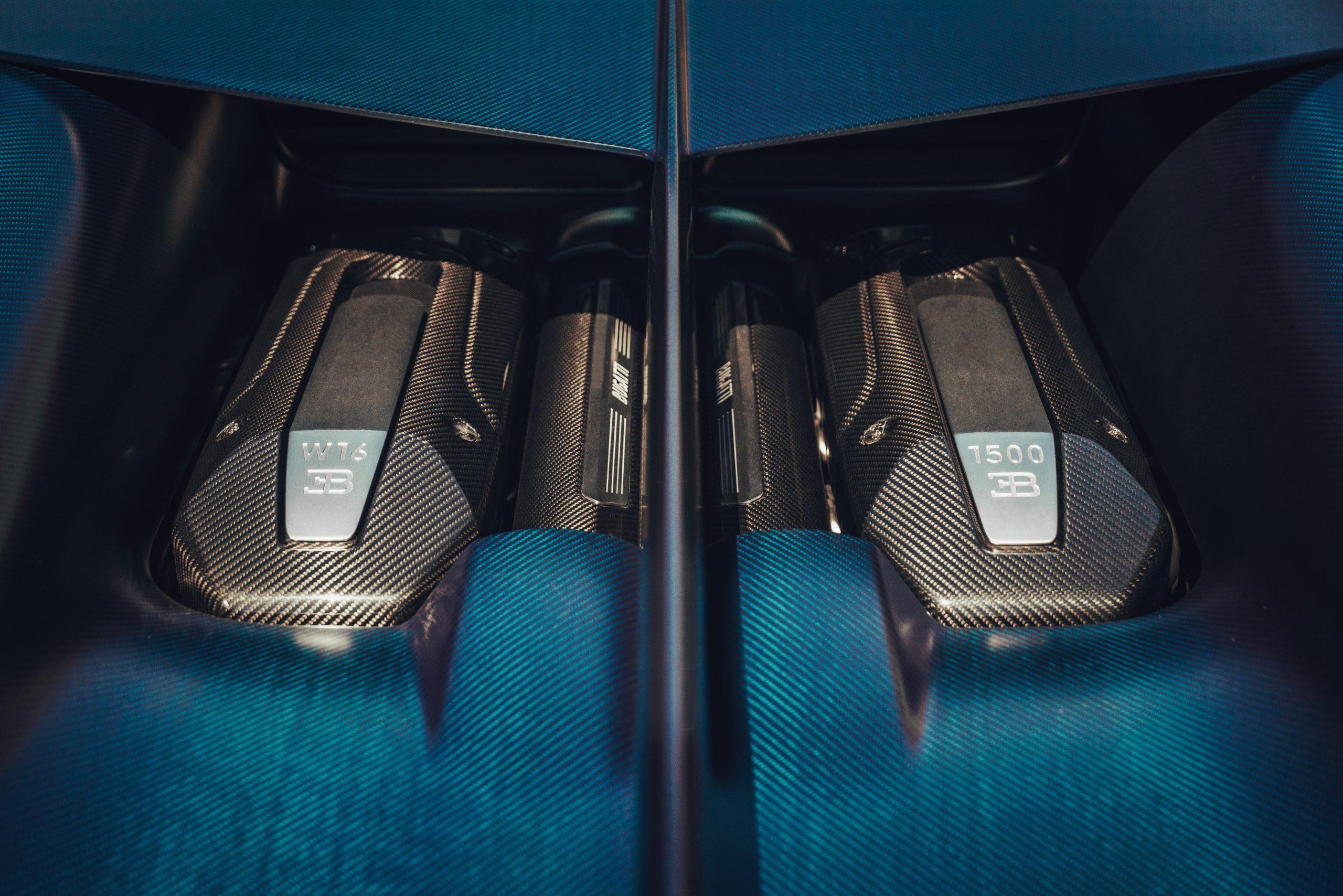 Bugatti Divo W-16 engine