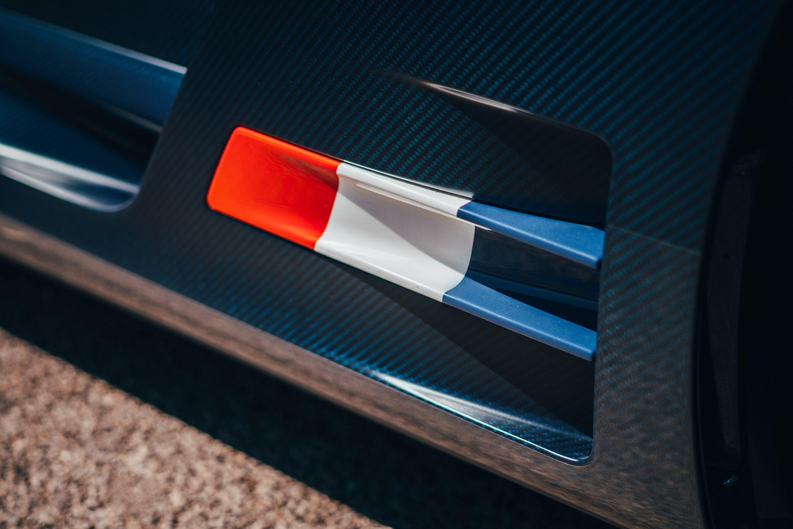 Bugatti Divo detail exterior