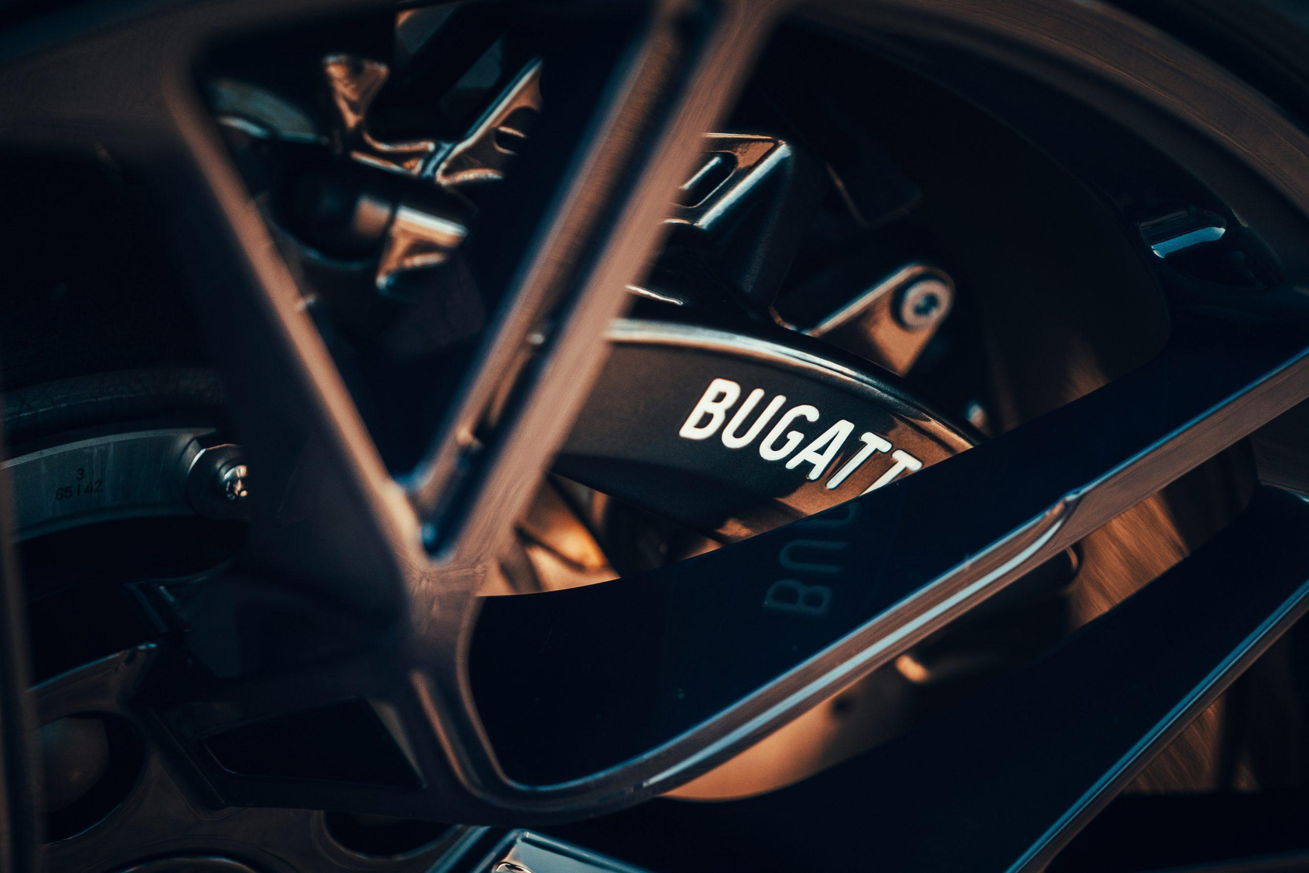 Bugatti Divo brakes detail