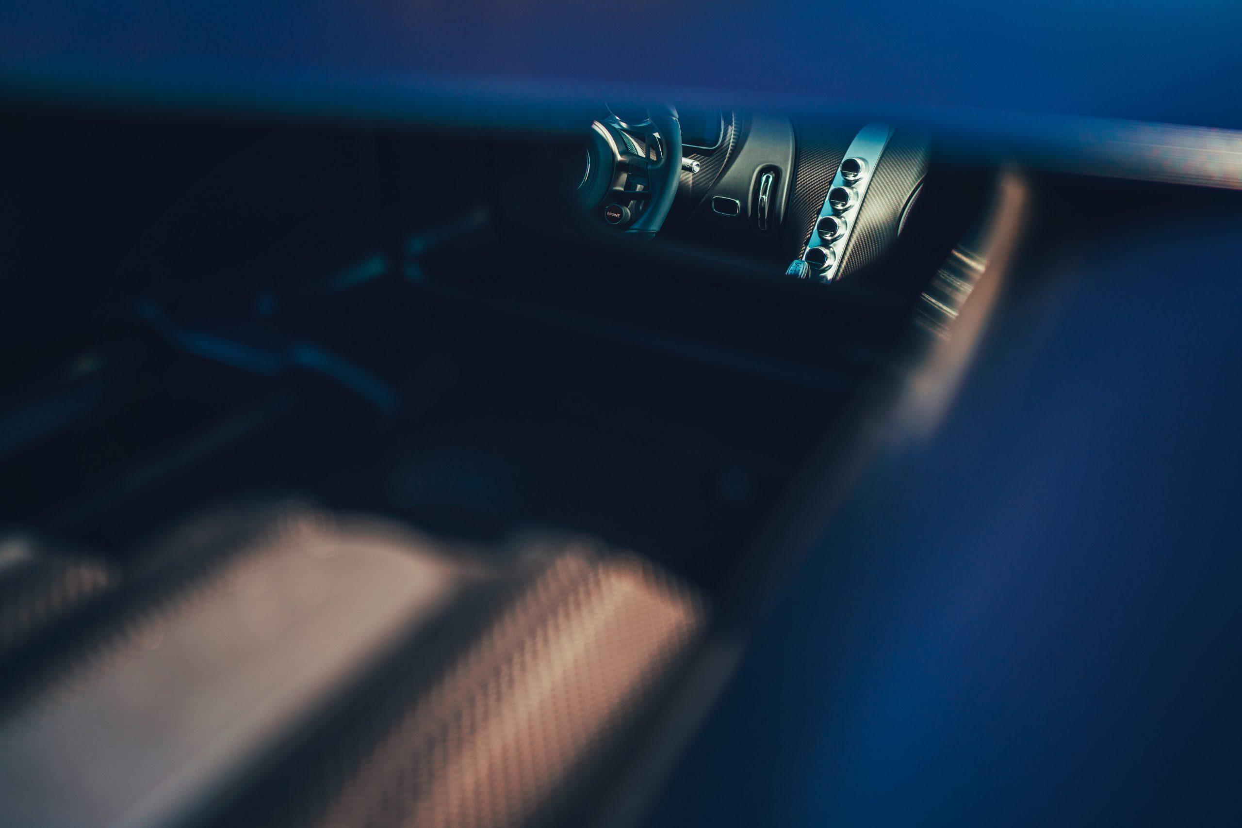 Bugatti Divo interior engine artsy