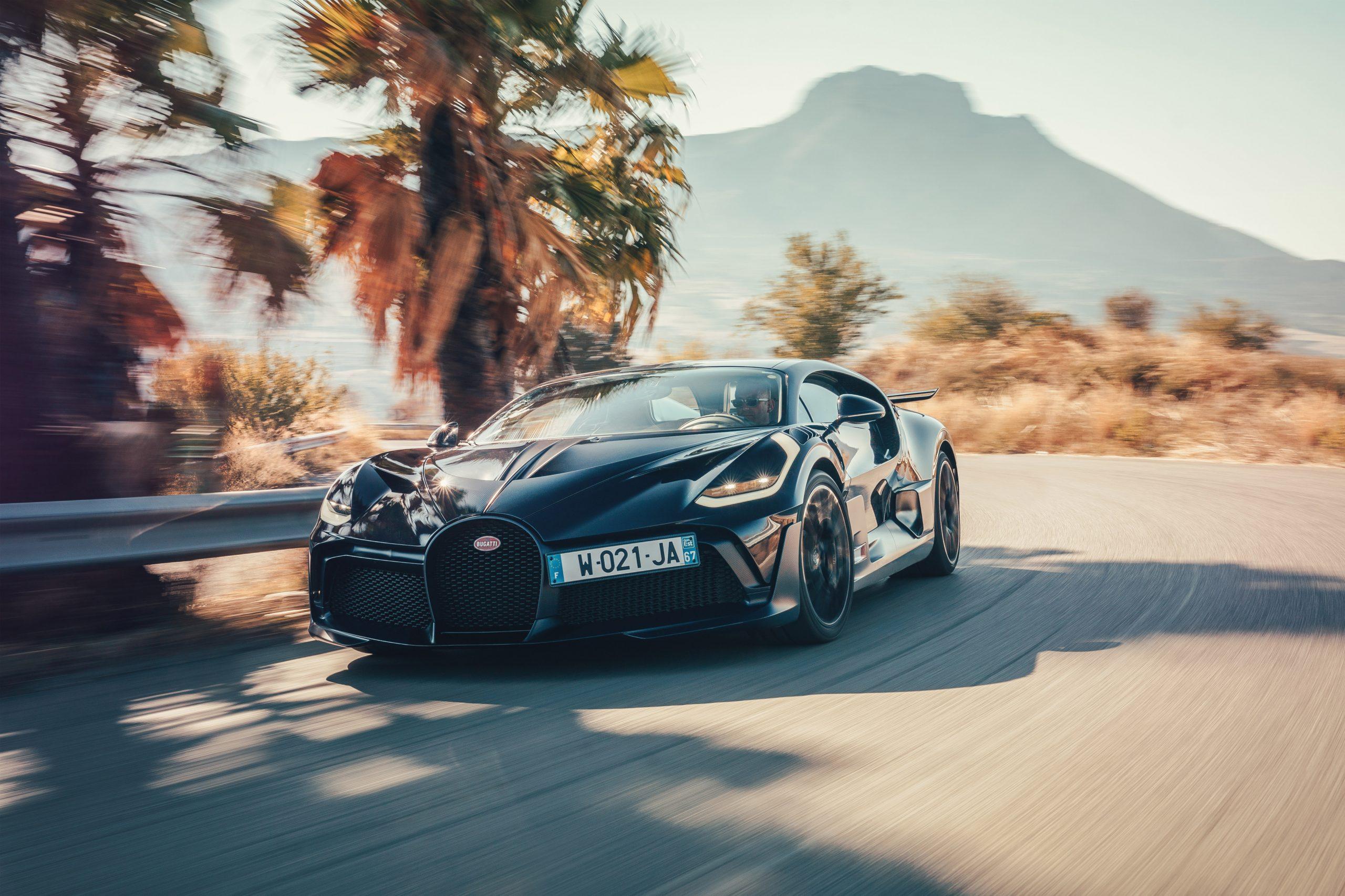 Bugatti Divo Targa Florio rolling mountains