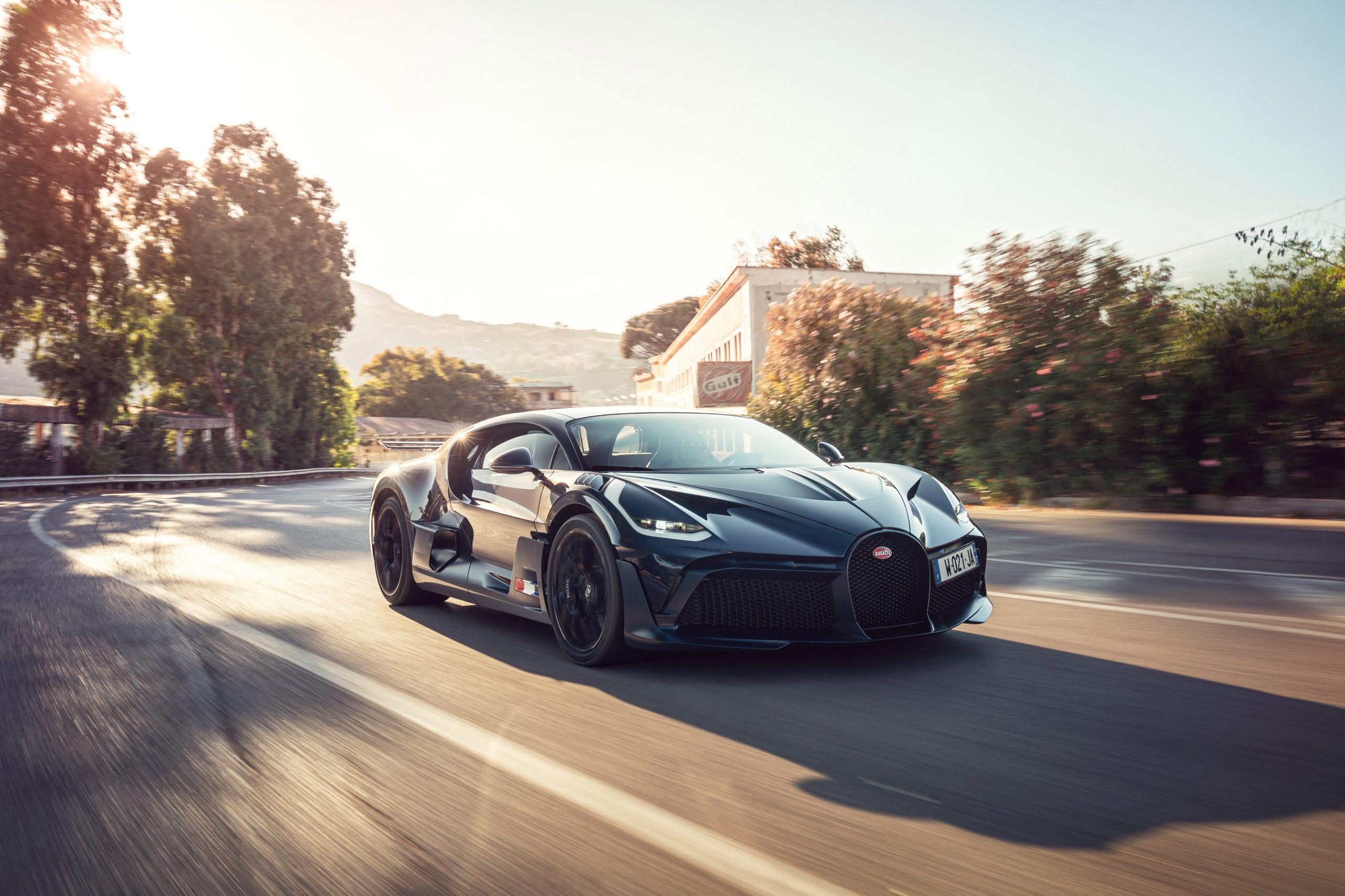 Bugatti Divo Targa Florio rolling front