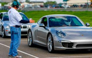 Porsche 911 on track