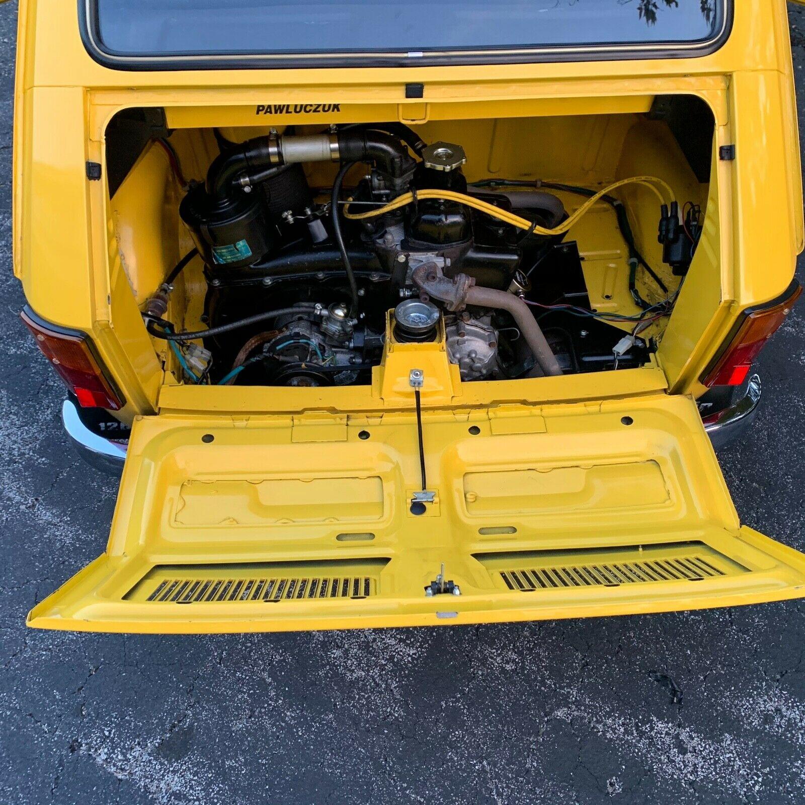 1976 Fiat 126 P engine