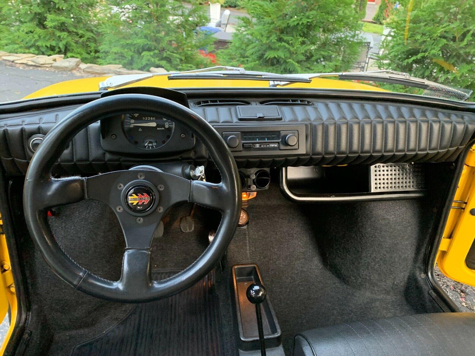 1976 Fiat 126 P interior
