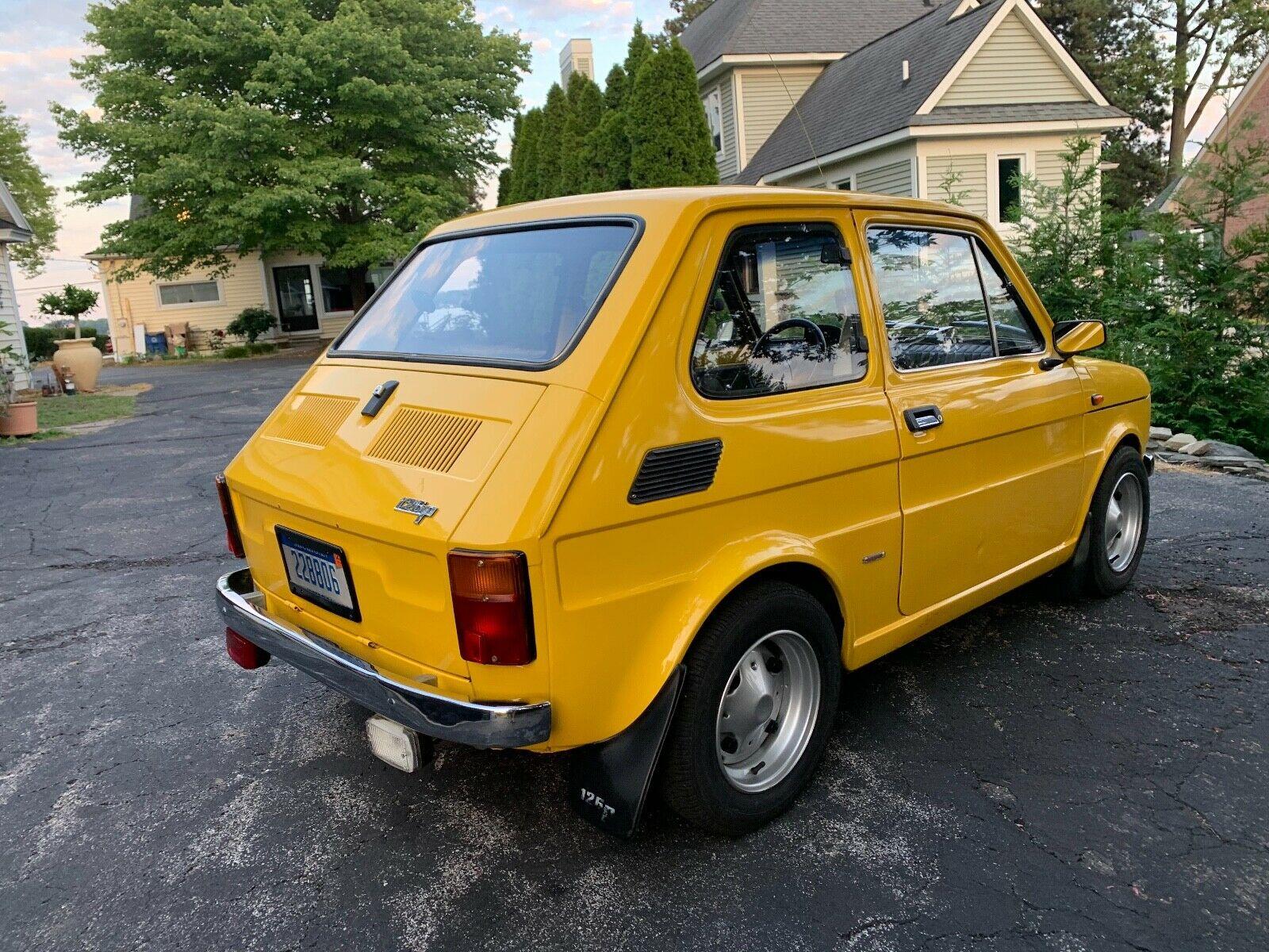 1976 Fiat 126 P rear
