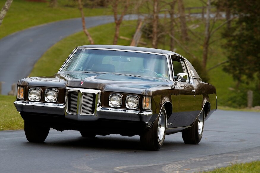 1969 pontiac grand prix sj front driving