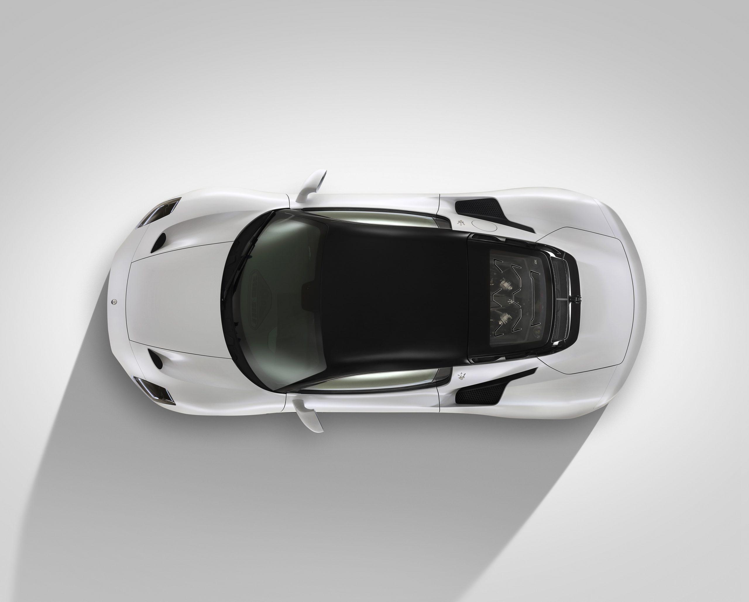 Maserati MC20 overhead