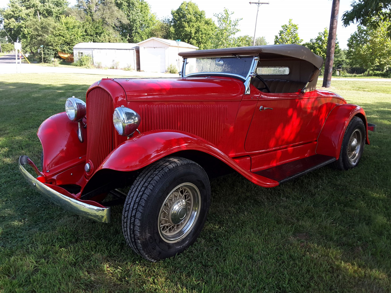 1932 DeSoto Roadster