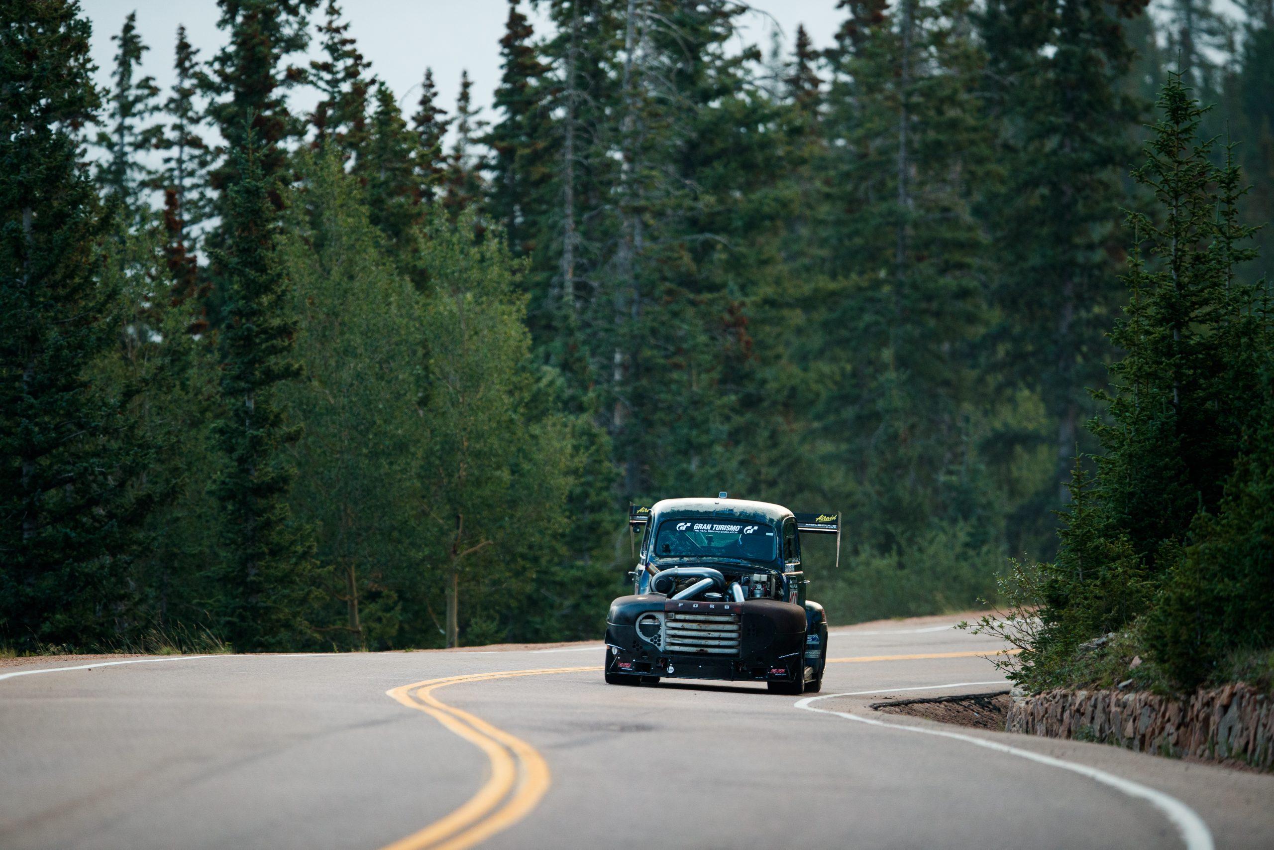 pikes peak international hill climb truck front
