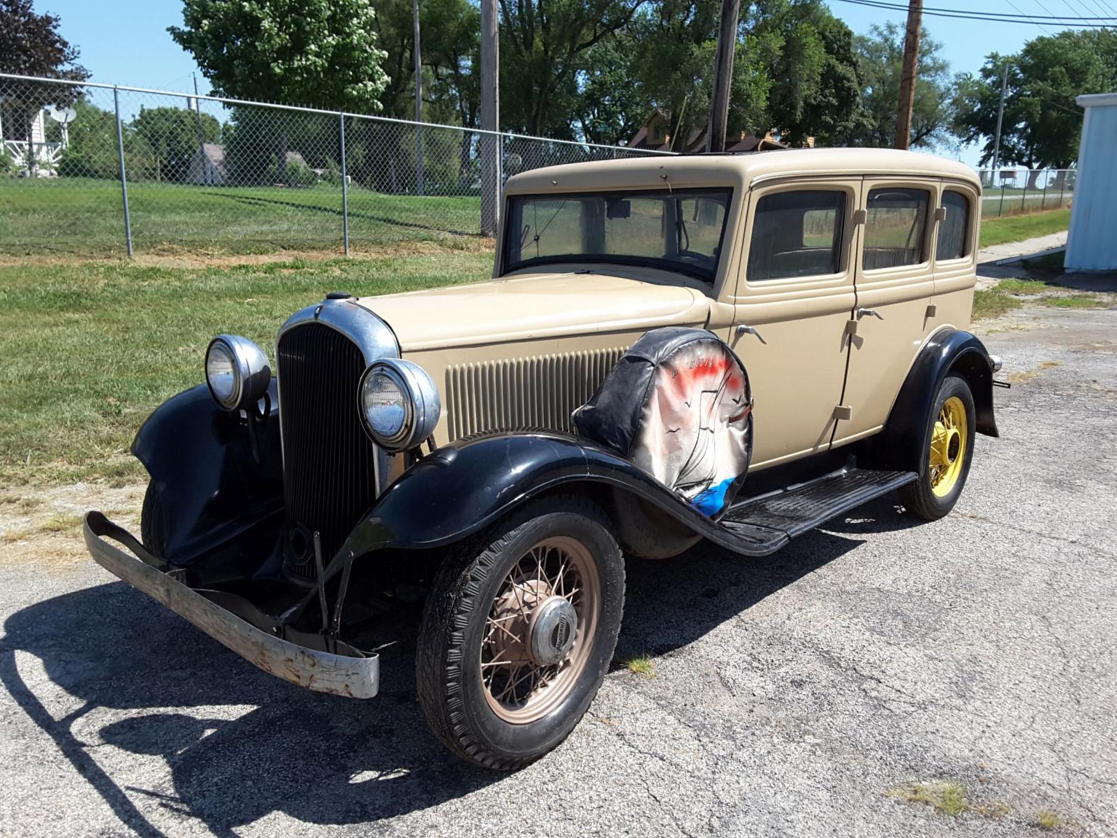 1932 Plymouth Sedan