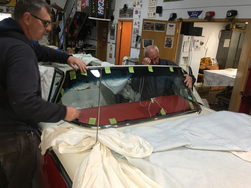 1959 Ford Galaxie Skyliner restoration