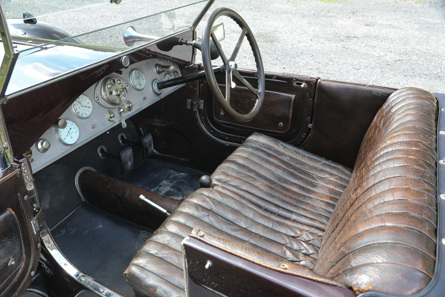 1924 Lancia Lambda Series III Torpedo interior