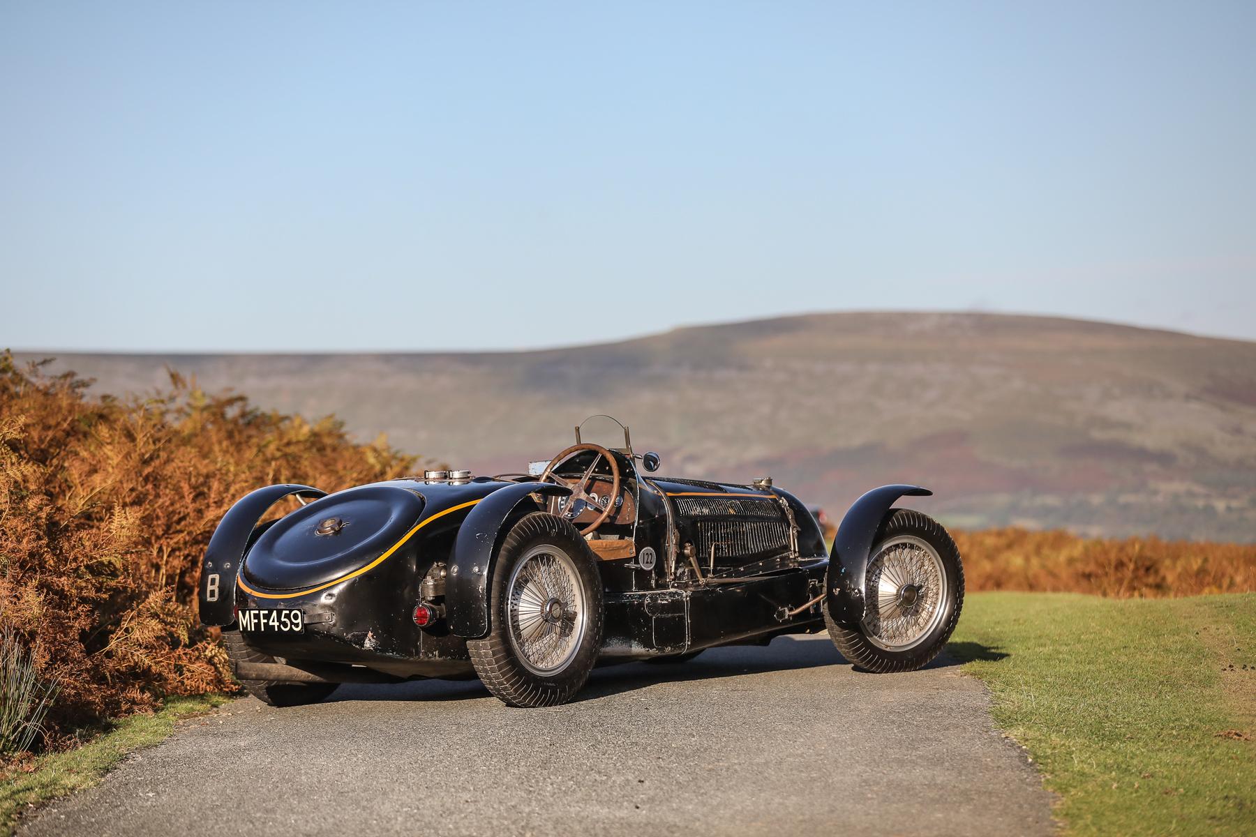 1934 Bugatti Type 59 Sports rear